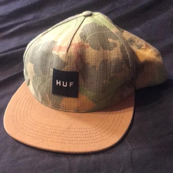 eeb2fec8 HUF Accessories   Green Custom Snapback Headwear   Poshmark